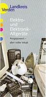 Infoblatt Elektro- und Elektronik-Altgeräte