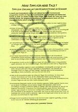 Infoblatt zur Komposttonne