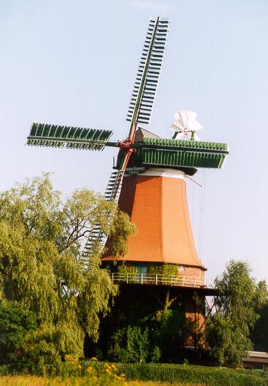 Mühle in Westen