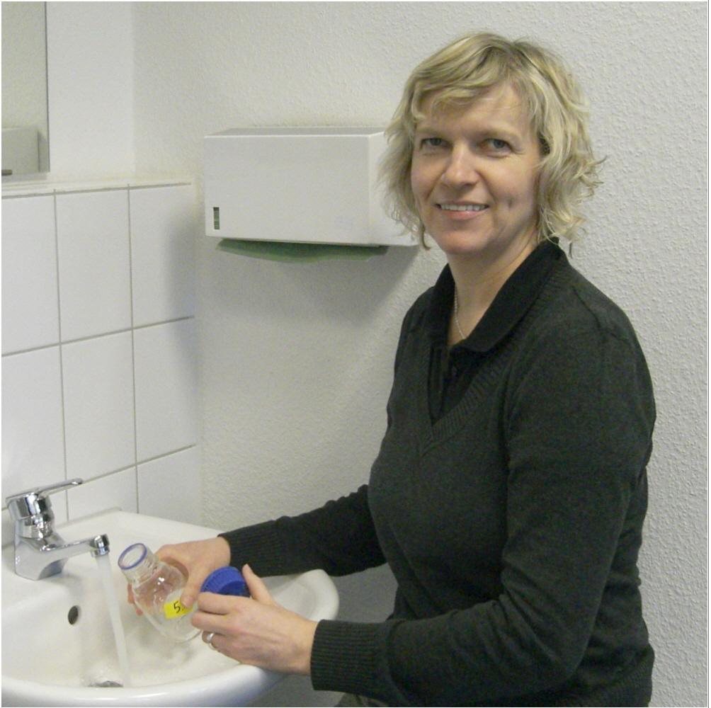 Hygieneinspektorin Heide Hillmann