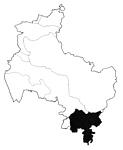 Karte Aller-Talsandebene