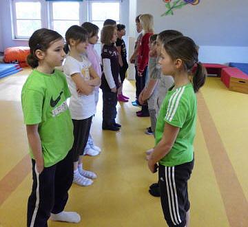 Selbstbehauptungskurse an der Grundschule Blender