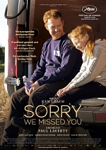 Sorry We Missed You - Plakat